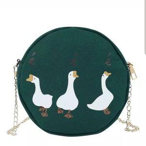 Handbags - Geese Chain Clutch Purse Bag Goose
